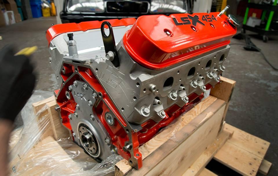 New V8 Engine