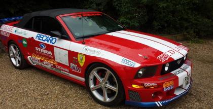 Sky Sponsor Mustang