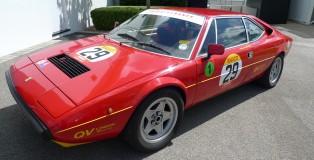 William Moorwood's Ferrari at Goodwood