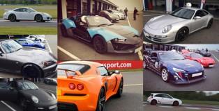 Evo Track Events Collage