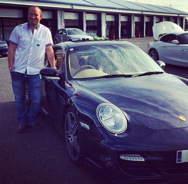Ross and Porsche 911 Turbo