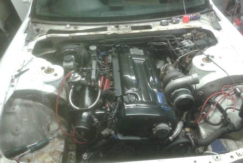 Nissan Skyline - Engine