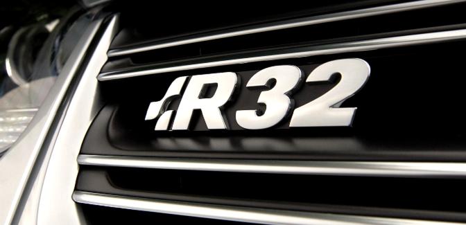 The Volkswagen Golf R32
