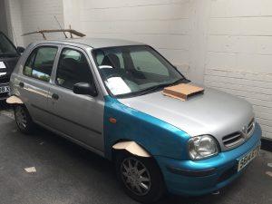 Worst Car Modifications - Cardboard 2
