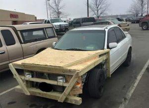 Worst Car Modifications - Wooden Wonder