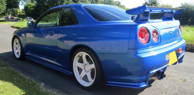 Customer Car Gallery: Wayne's Nissan Skyline R34 GTR