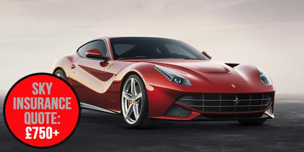 Cars to drive - Ferrari