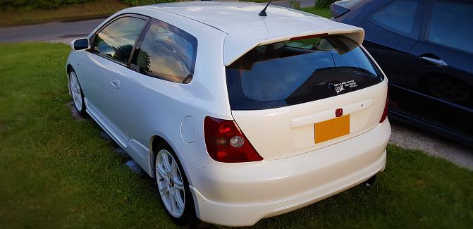 Curt - Honda Civic Type R
