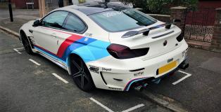 Modified BMW 640i