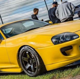 Customer car feature: Luke's twin-turbo Toyota Supra Mkiv
