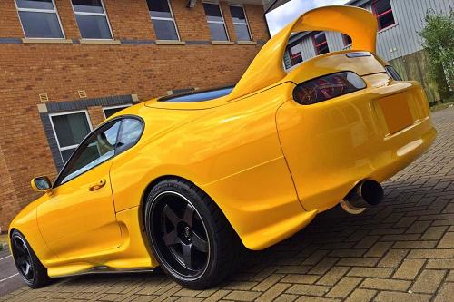 Customer Car Feature Luke S Twin Turbo Toyota Supra Mkivperformance
