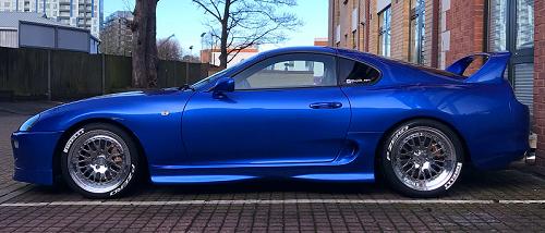 700bhp Toyota Supra