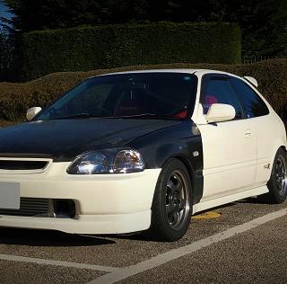 Modified Customer Cars: David's Honda Civic Type R EK9
