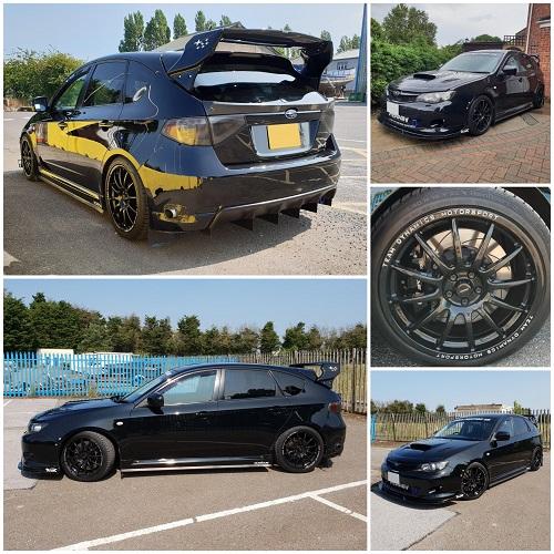 Modified Subaru WRXS