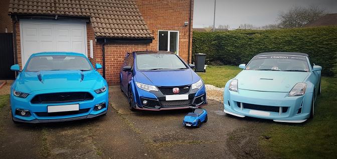 Customer car feature - Ford Honda Nissan