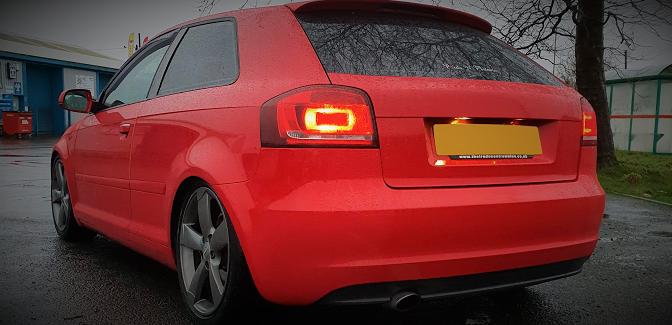 Customer Car Gallery: Lauren's Audi A3