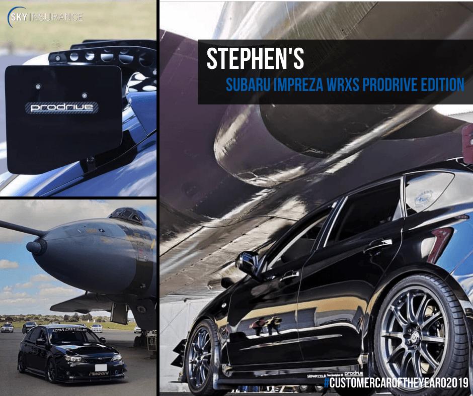 Stephen's Subaru Impreza WRXS Prodrive Edition