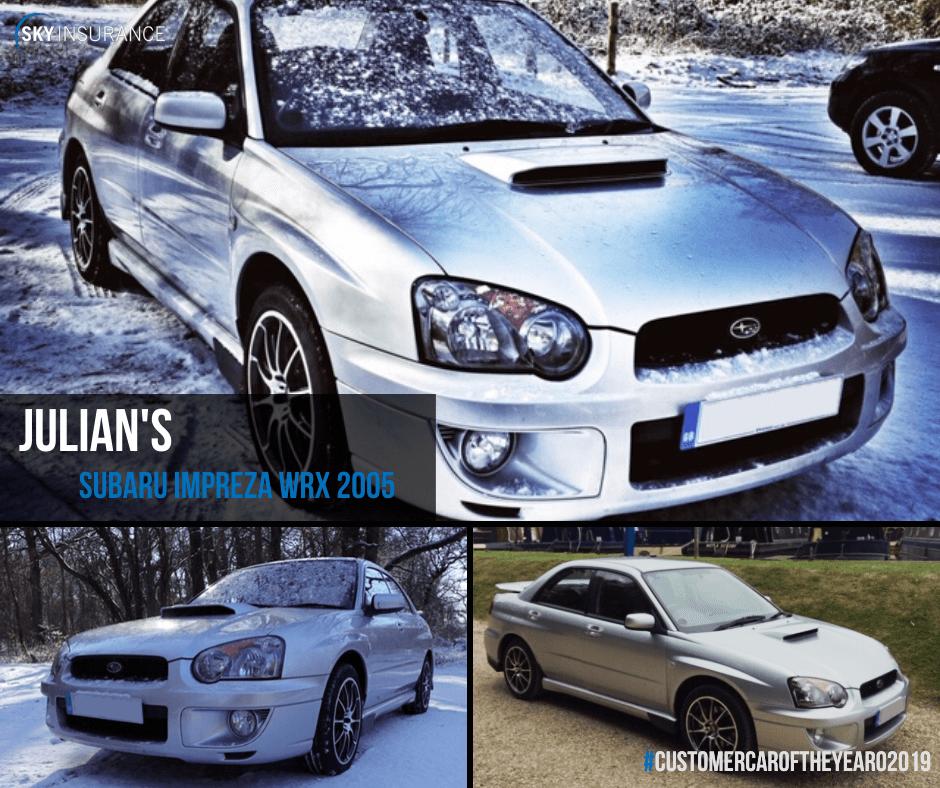 Julian's Subaru Impreza WRX 2005