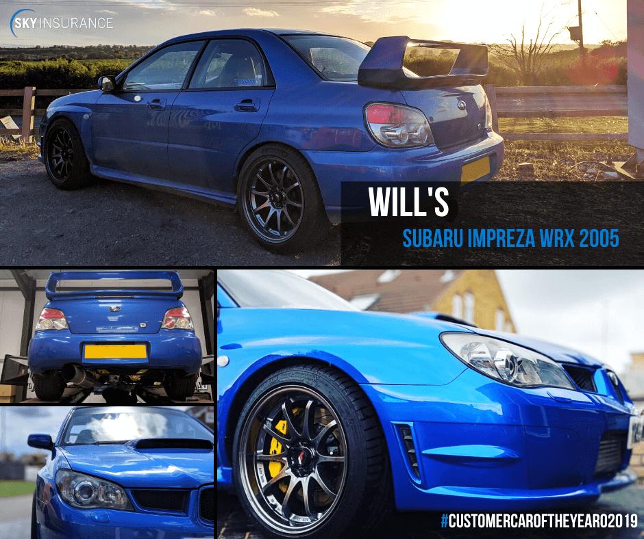 Will's Subaru Impreza WRX 2005