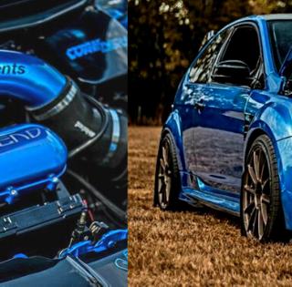 Customer Car Feature: Chris' Liquid Azure Blue Ford Focus RS MK2