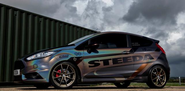 Partner update: Steeda debuts new wrap for Fiesta ST180